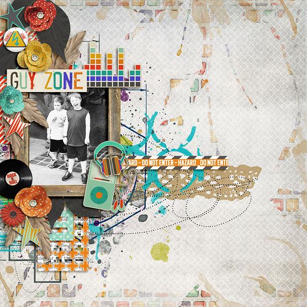 Guy Zone Paint Elements