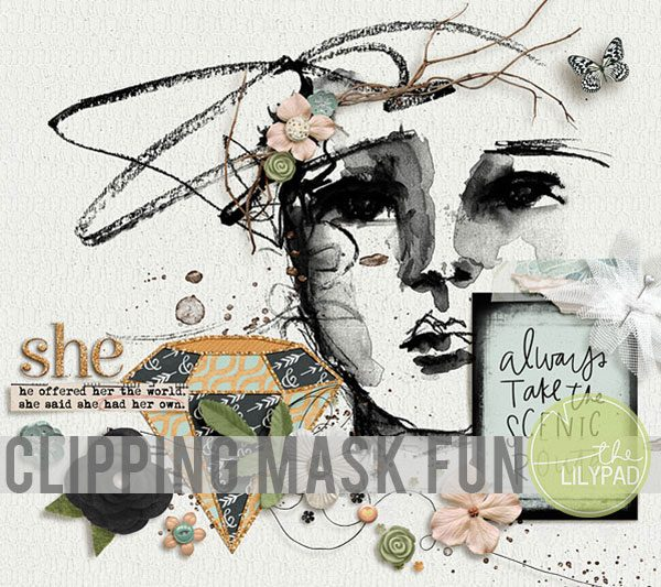 Extend Your Digital Stash – Clipping Mask Fun