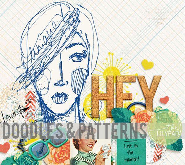 Doodled Elements & Patterns