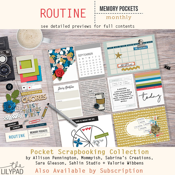 Memory Pockets Monthly: Routine