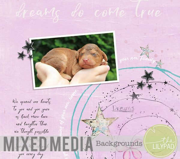 Creating Mixed Media Backgrounds