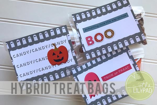 Quick Halloween Treat Bags