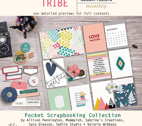 Memory Pockets Monthly : Tribe