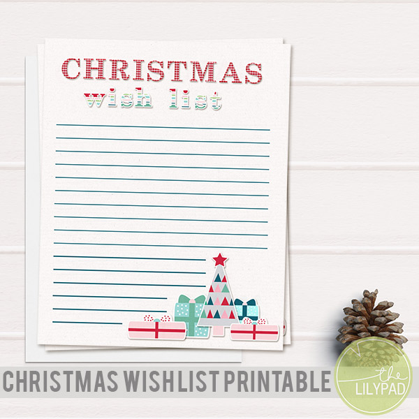 Christmas Wish List Prinbale