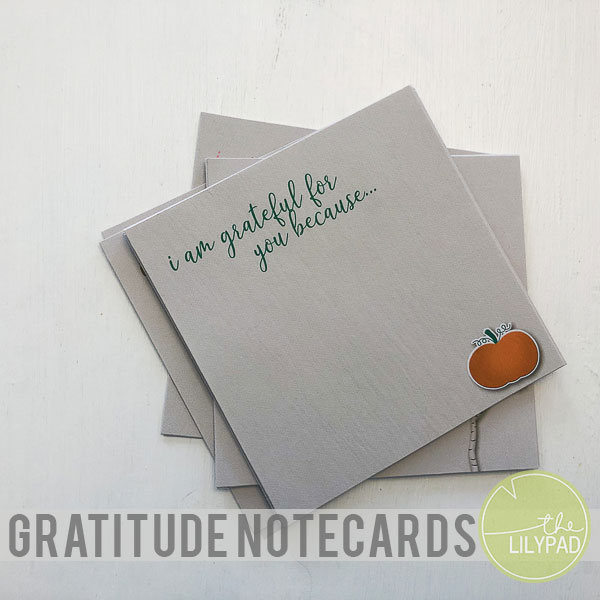 Gratitude Notecards