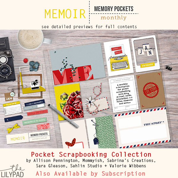 Memory Pockets Monthly : Memoir