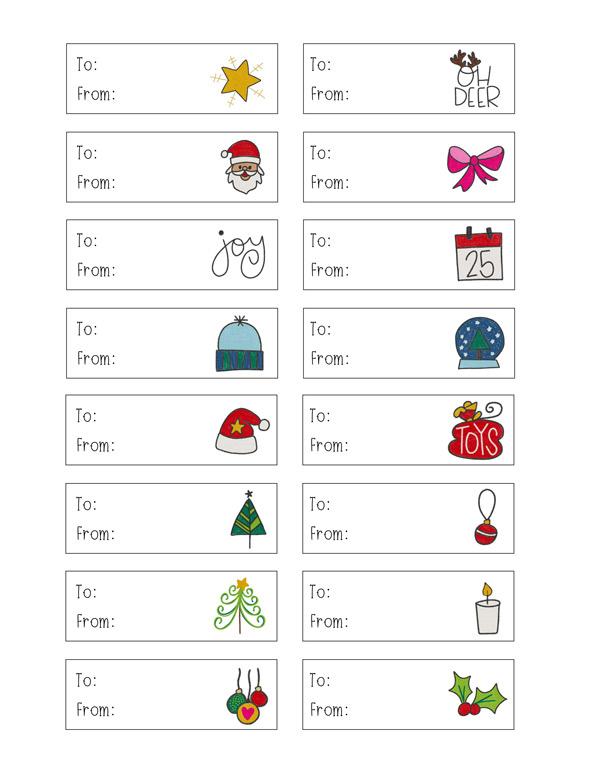 Make Your Own Christmas Gift Tags