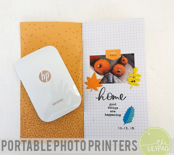Using Portable Photo Printers in Your Memory Keeping