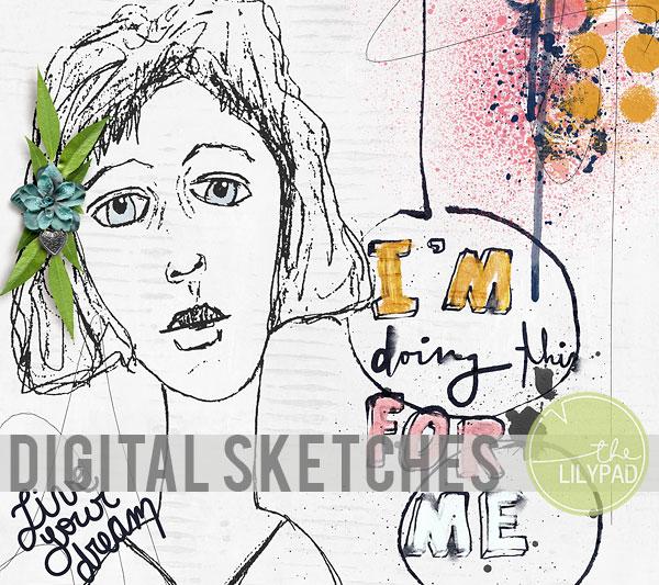 Digitizing Sketches