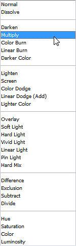 Multiply-Blend-Mode