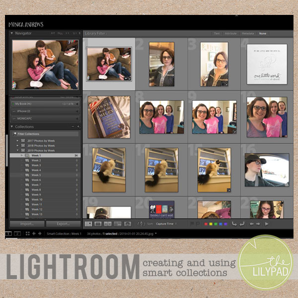 Creating and Using Lightroom Smart Collections