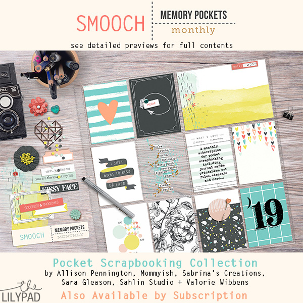 Memory Pockets Monthly: Smooch