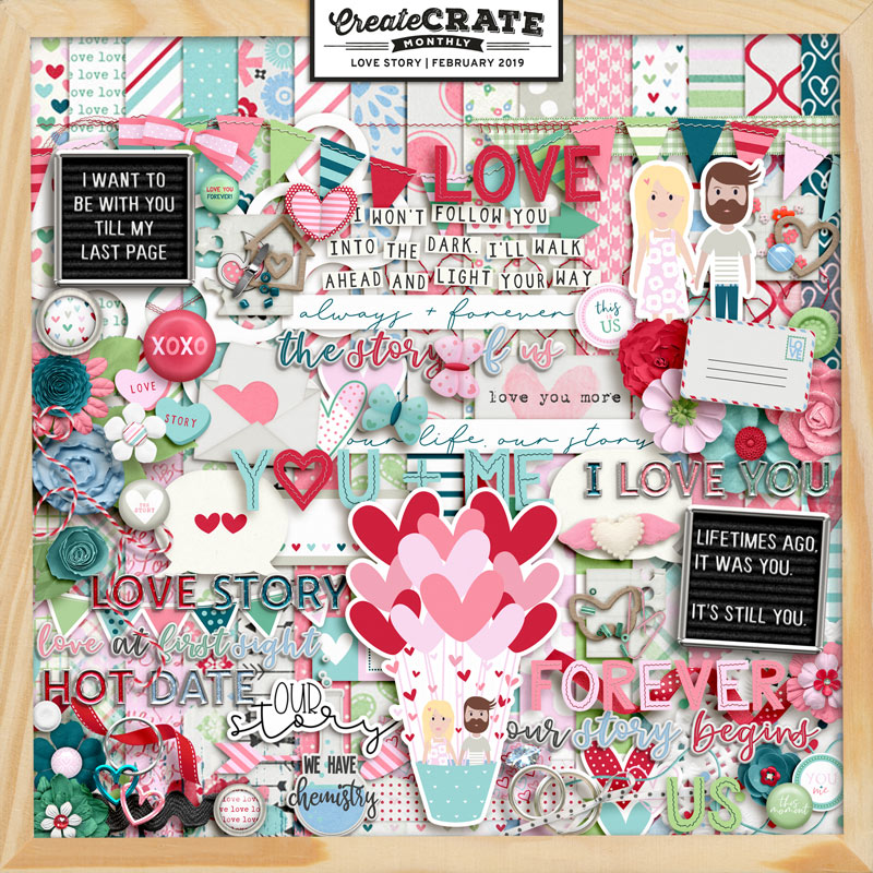 Create Crate Monthly Love Story