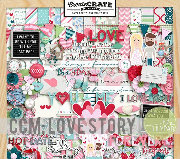 Create Crate Monthly: Love Story