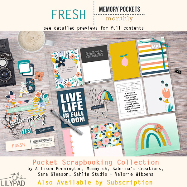Memory Pockets Monthly: Fresh