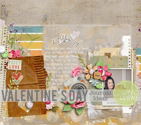 Valentine's Day Journal Ideas