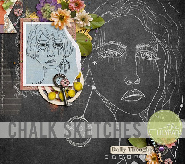 Creating a Chalk Sketch in Photoshop