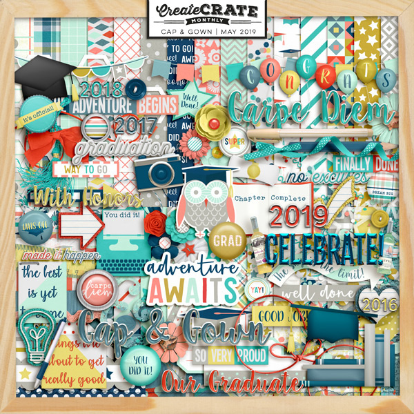 Create Crate Monthly:  Cap & Gown