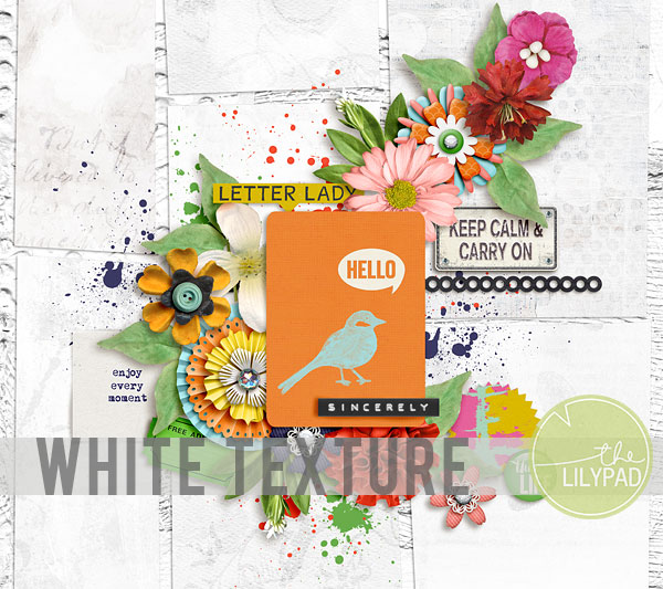 White Textured Backgrounds in Photoshop