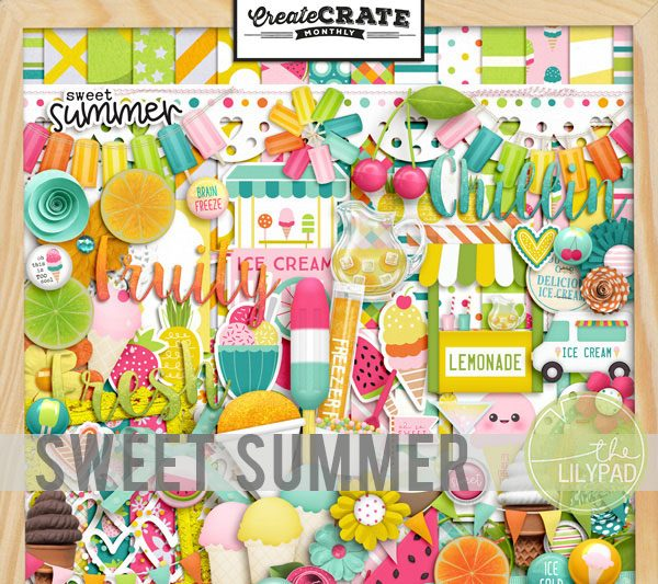 Create Crate Monthly:  Sweet Summer