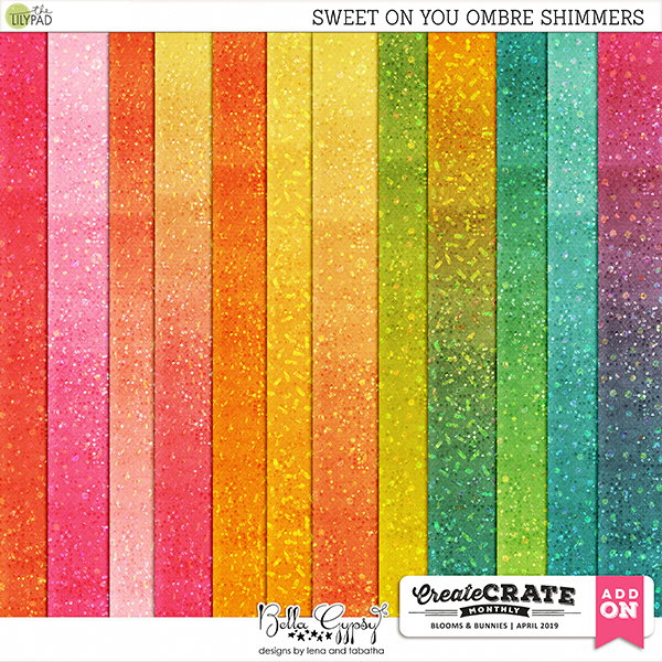 Sweet on You Ombre Sparkle