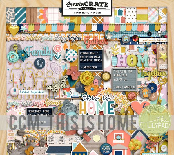 Create Crate Monthly: This is Home
