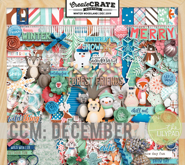 Create Crate Monthly: Winter Woodland