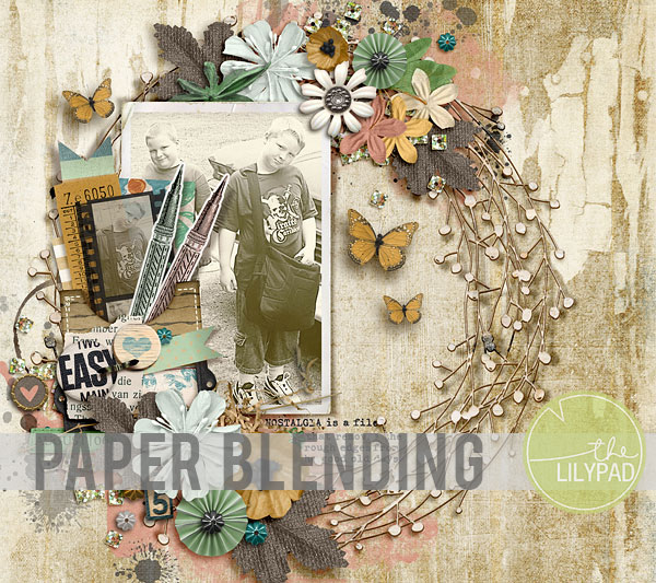 Digital Paper Blending