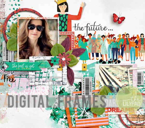 Creating Digital Frames in Photoshop