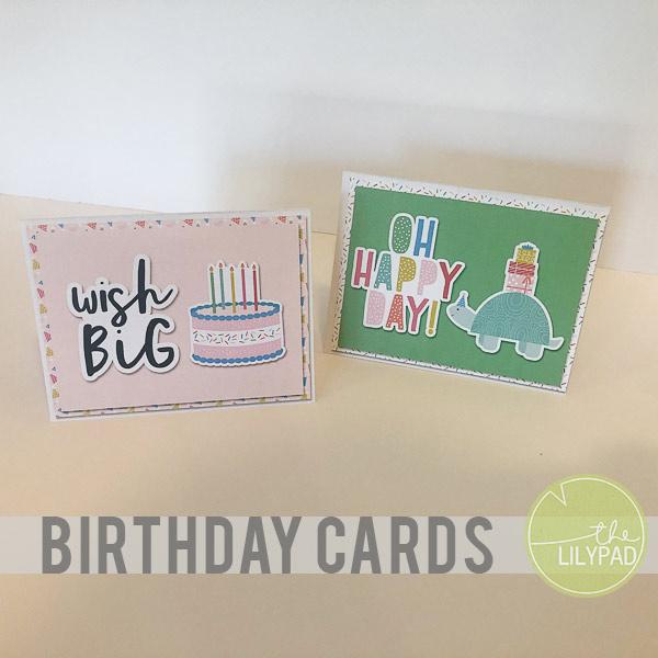 Hybrid Birthday Card