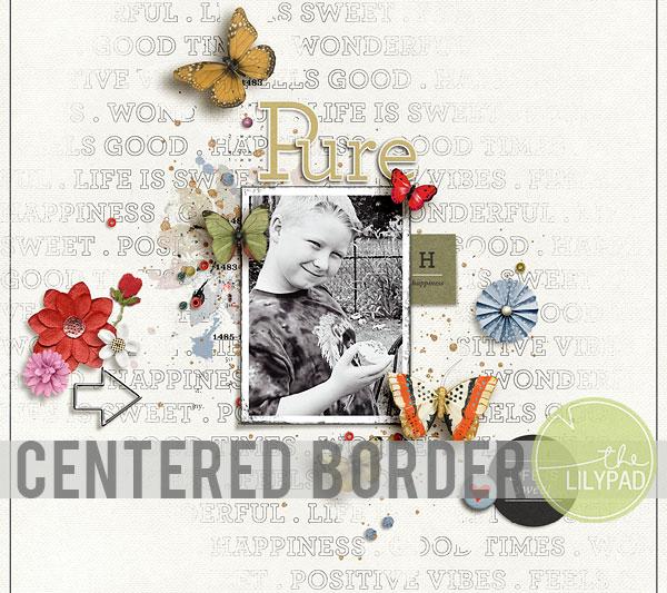 Centered Stroke Borders in Photoshop