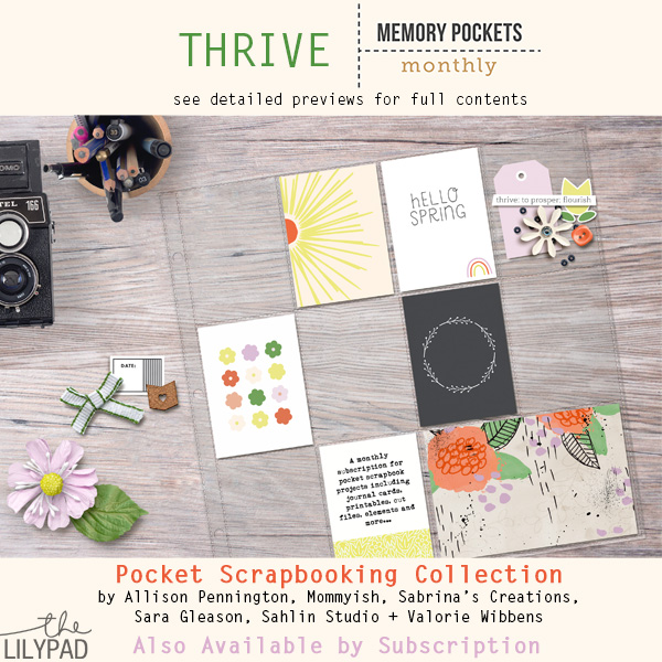 MPM for March: Thrive