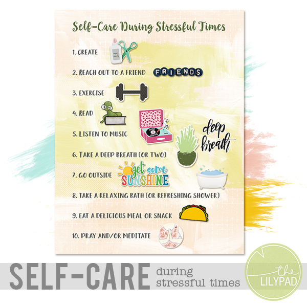 Self-Care During Stressful Times