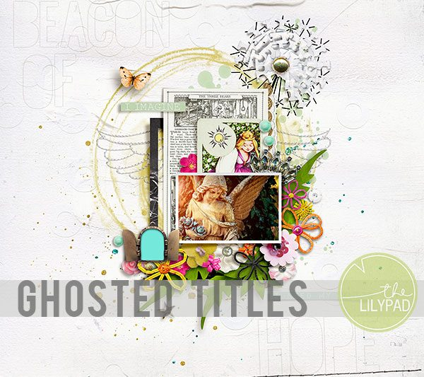 Ghosted Titles in Photoshop
