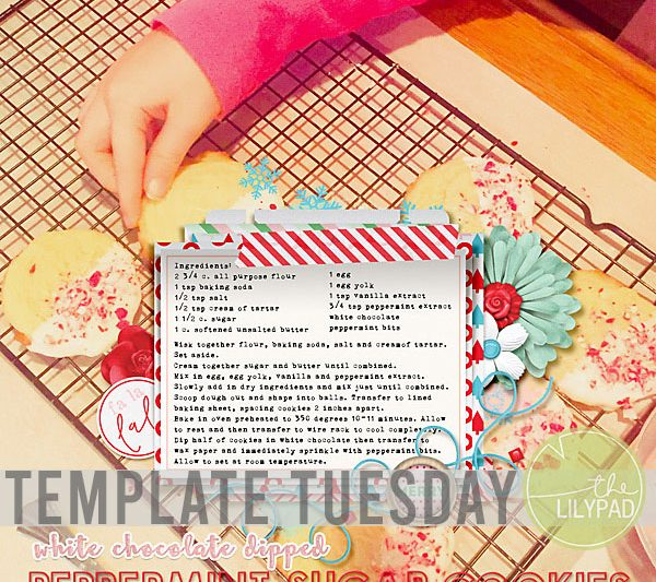 Template Tuesday : Using a Recipe in a Photo Spot