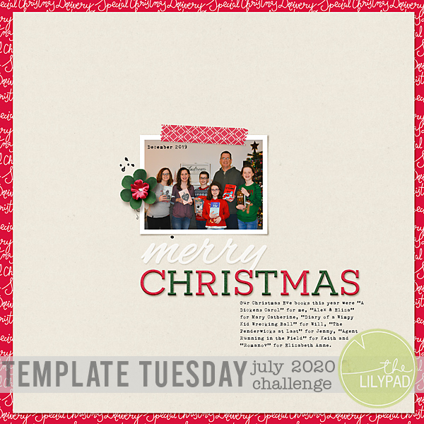 Template Tuesday : July 2020 Template Challenge