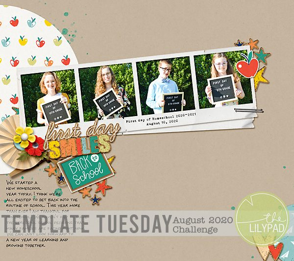 Template Tuesday: August 2020 Template Challenge