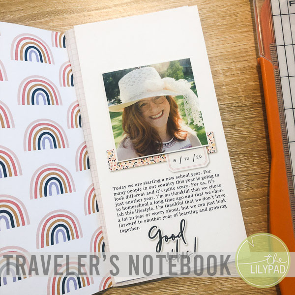 Using a Traveler's Notebook Template