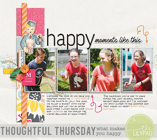 Thoughtful Thursday: What Makes You Happy