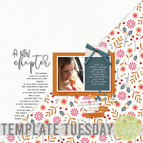 Template Tuesday | September 2020 Template Challenge