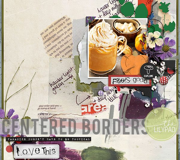 Centered Borders in Photoshop