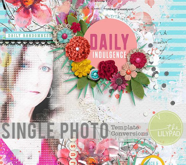 Single Photo Template Conversions