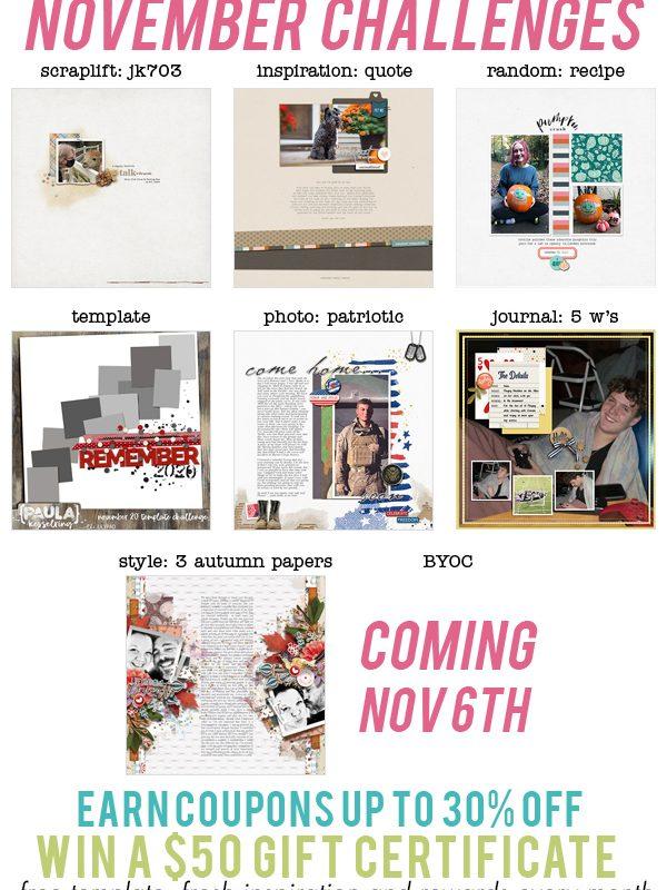 November Challenges