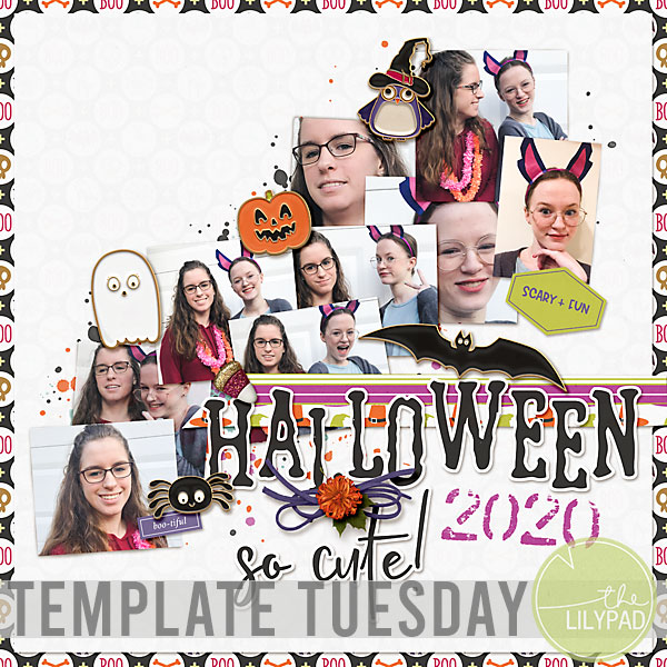 Template Tuesday   November Template Challenge