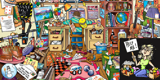 Mojo Can Hide in Clutter! Help Is On the Way!