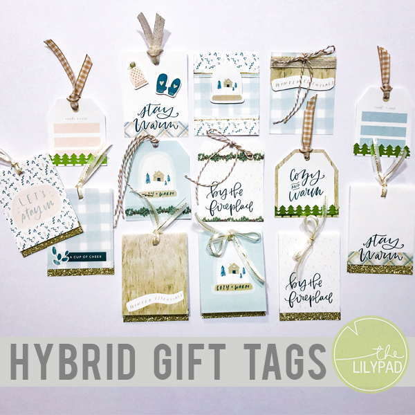 Sparkle Up Your Gifts This Season: Hybrid Gift Tags