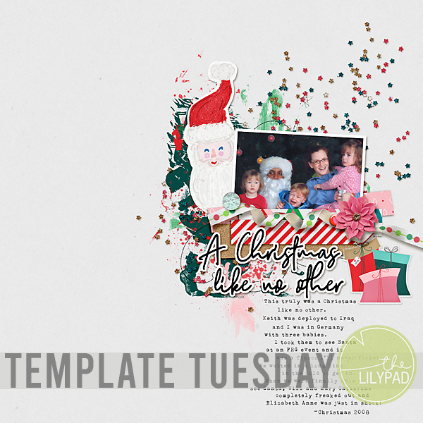 Template Tuesday | December Challenge Template