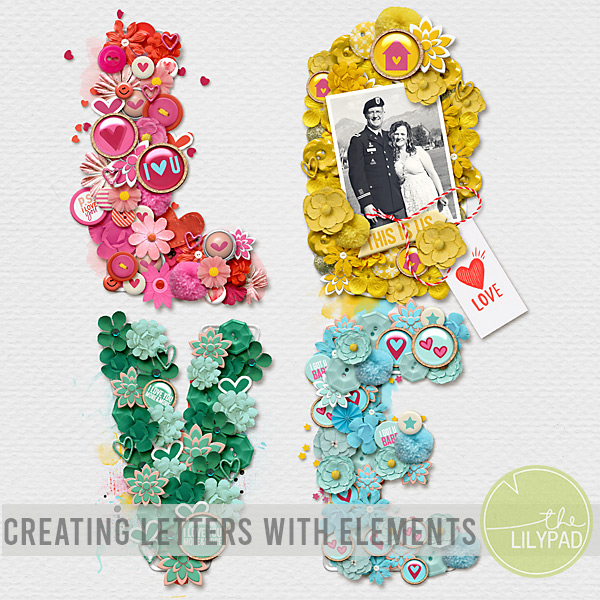 Creating Letters with Elements