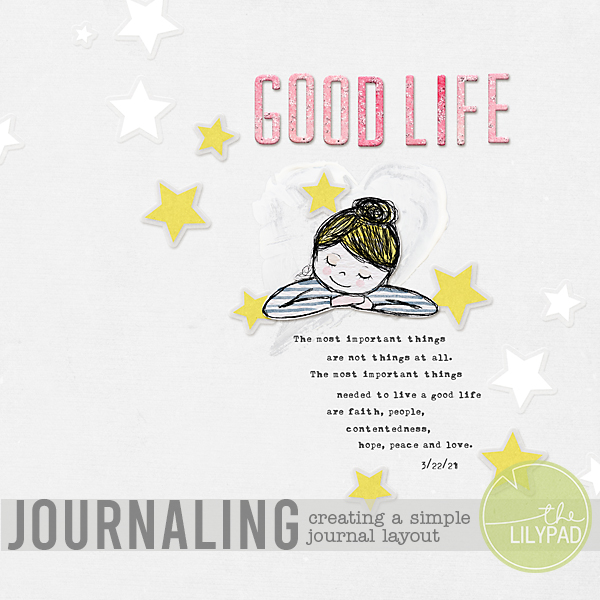 Creating a Simple Journaling Layout