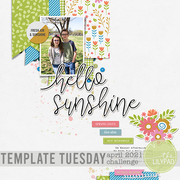 Template Tuesday | April 2021 Challenge